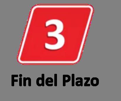 3 Fin del Plazo